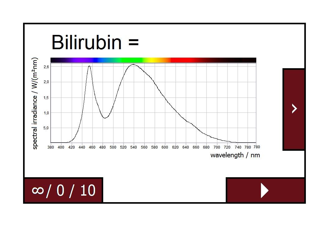 Bilirubin measurement