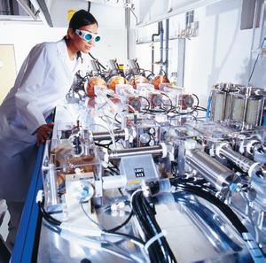 Laservision principle of laser