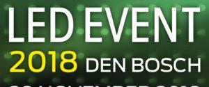 LED EVENT 2018 – 28 November 2018 – 's Hertogenbosch