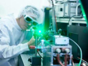 JenOptik Laser manufacturing Adjjusting