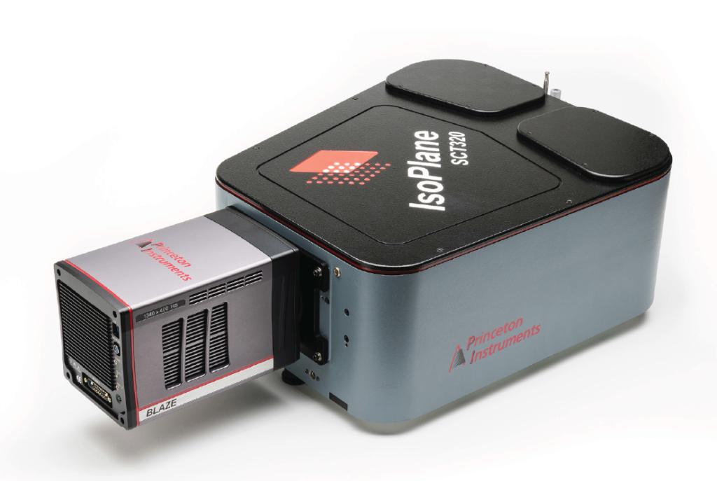 Blaze and IsoPlane SCT320 spectromter Princeton Instruments