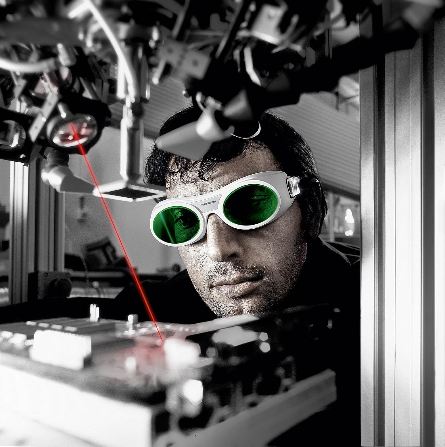Laser Safety Glasses With Frame R01from LASERVISION